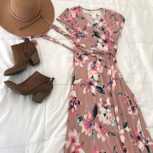 Pinkblush Floral Dress